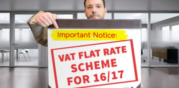 Important notice: New VAT Flat Rate Scheme