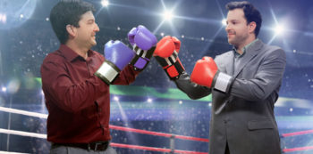 When should you shake hands with your competitor?