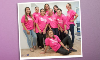 Vertice's Angels apoiando Cancer Research UK